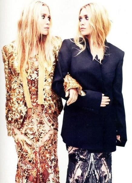Mary-Kate & Ashley Olsen for UK Elle April 2012. Изображение № 3.