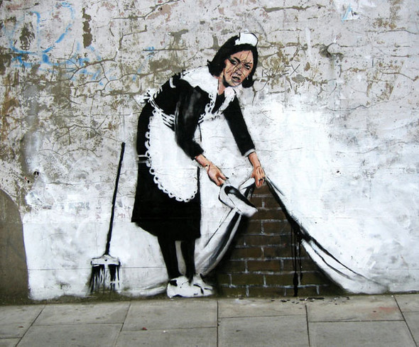 Большая коллекция уличного искусства. Изображение № 56.