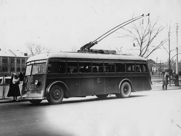 Первые троллейбусы. Изображение № 3.