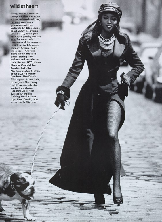 P. Lindbergh Vogue(US) Wild at heart september 1991. Изображение № 9.