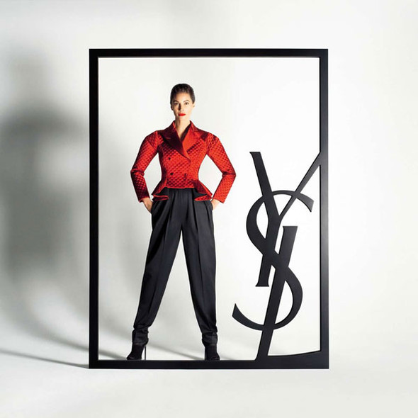 Turlington for YSL and Bally. Изображение № 2.