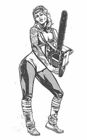 Девушки с оружием от Frank Barbara. Изображение № 35.