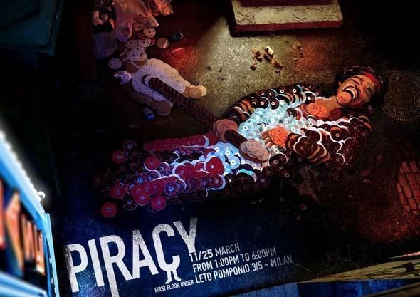 Изображение 5. Рекламная кампания: Копирайтеры против пиратства.. Изображение № 5.