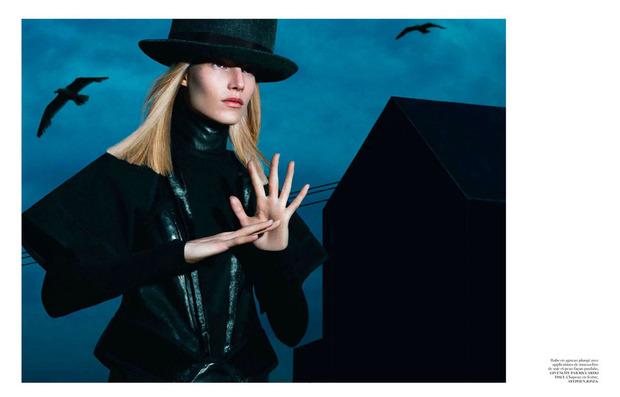 Новые съемки Dazed & Confused, Vogue, i-D и W Magazine. Изображение № 15.