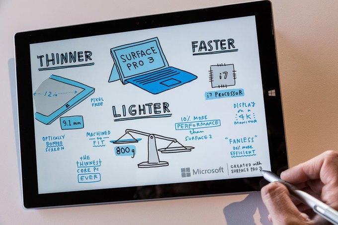 Microsoft представила гибрид планшета и ноутбука Surface Pro 3. Изображение № 6.