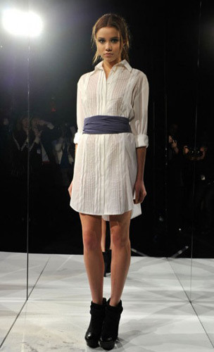 Lublu Kira Plastinina FW 2011 на показе на Нью-Йоркской неделе моды. Изображение № 29.