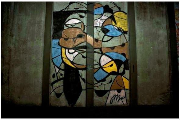 Подземное искусство в Нью-Йорке, светящееся кладбище в Лондоне и другие новости. Изображение № 7.