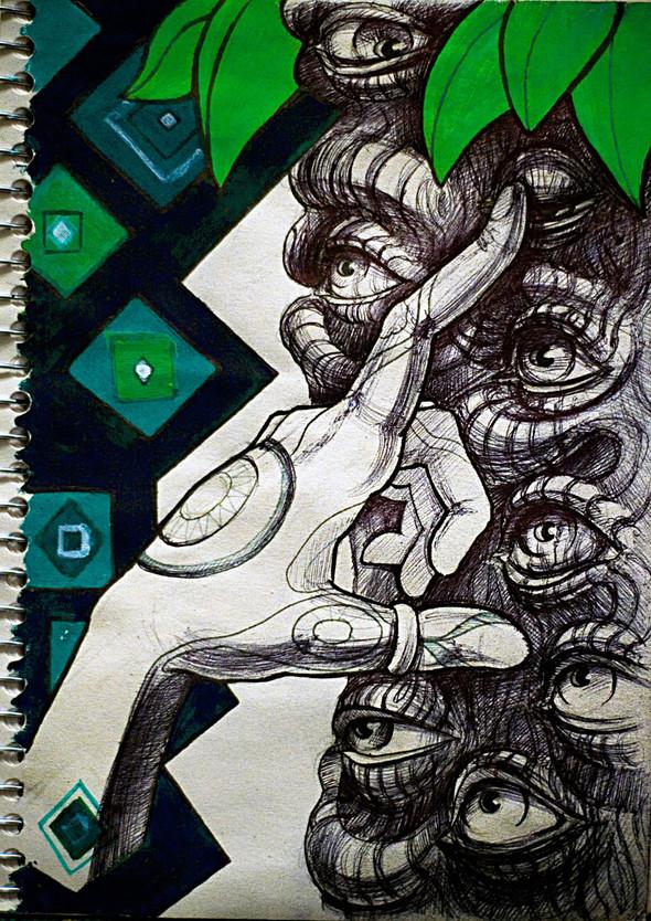 Рисунки в блокнотах. Изображение №7.