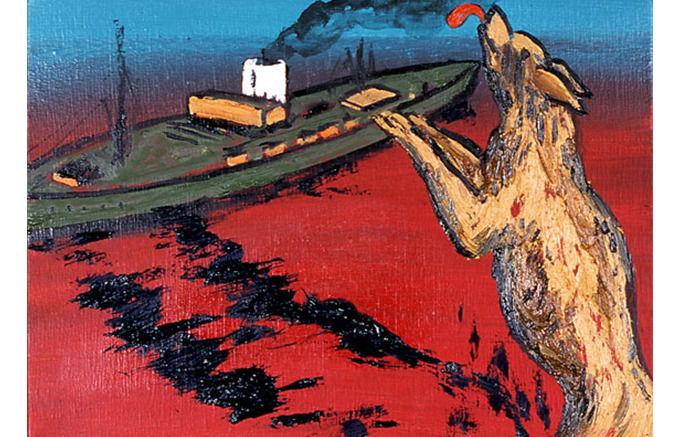 Enzo Cucchi, Ondeggiavano, 2007. Изображение № 25.