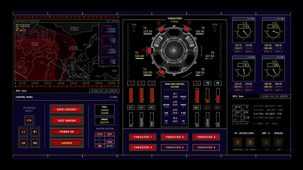 Студия рассказала обинтерфейсах в«Марсианине». Изображение № 2.