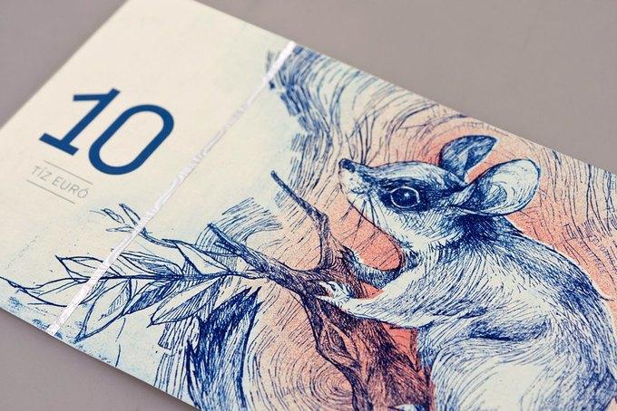 Концепт дня: банкноты несуществующих венгерских евро. Изображение № 9.