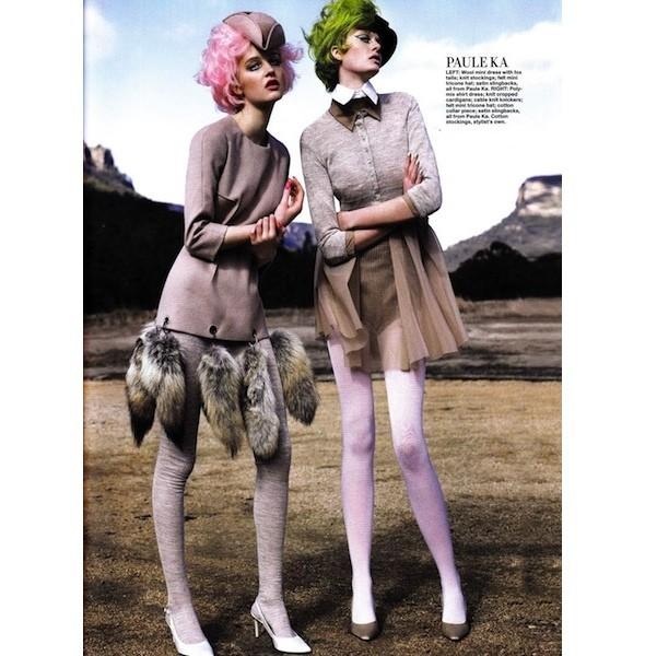 5 новых съемок: Harper's Bazaar, Qvest, POP и Vogue. Изображение № 23.