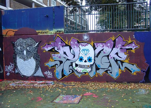 Стрит-арт в Лондоне. Изображение № 42.