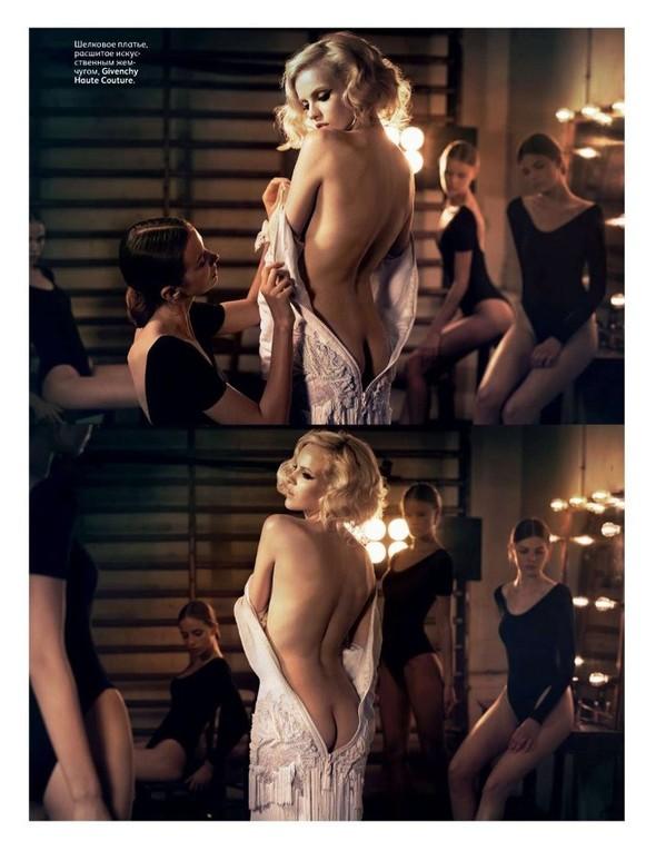 Съёмка: Гинта Лапина для российского Vogue. Изображение № 5.
