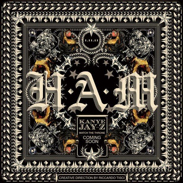 Изображение 1. Риккардо Тиши создал обложку для сингла Канье Уэста и Jay-Z.. Изображение № 1.