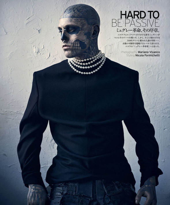 Изображение 1. Мужские съемки: GQ, Vogue Hommes и другие.. Изображение № 1.