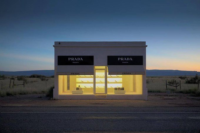 "Elmgreen and Dragset - ""Prada Marfa"" (2005)