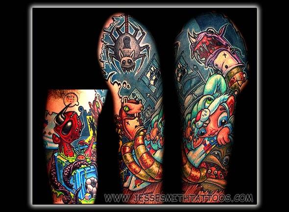 Jesse Smith Tattoo. Изображение № 17.