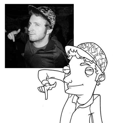 Иллюстрации друзей Adam Ellis. Изображение № 13.