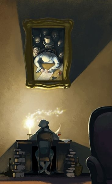 Карикатурный мирDenis Zilber. Изображение № 2.