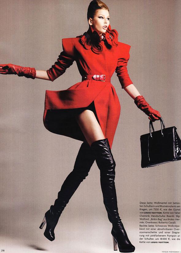 Moderne Magie Vogue German, November 2009. Изображение № 10.