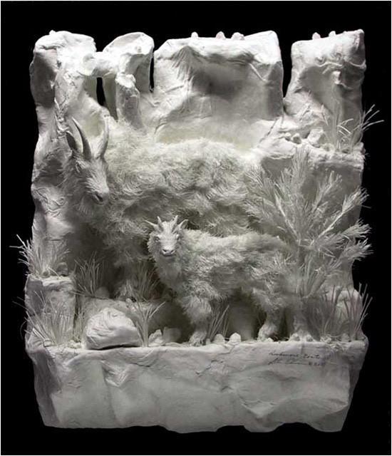 Бумажные скульптуры. Изображение № 23.