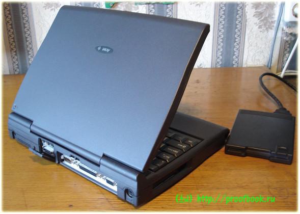 Ретро: Обзор ноутбука AcerNote Light 370DX 1996года. Изображение № 5.
