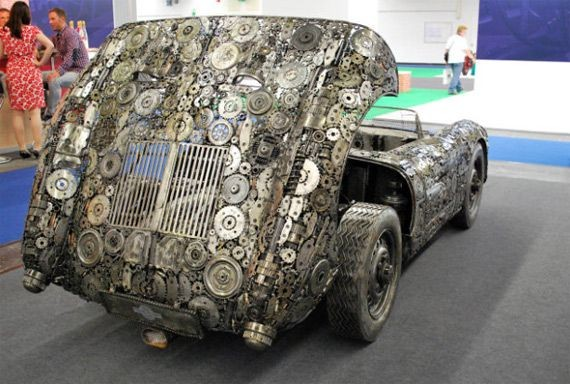 Серия необычных авто от Giganten Aus Stahl. Изображение № 9.
