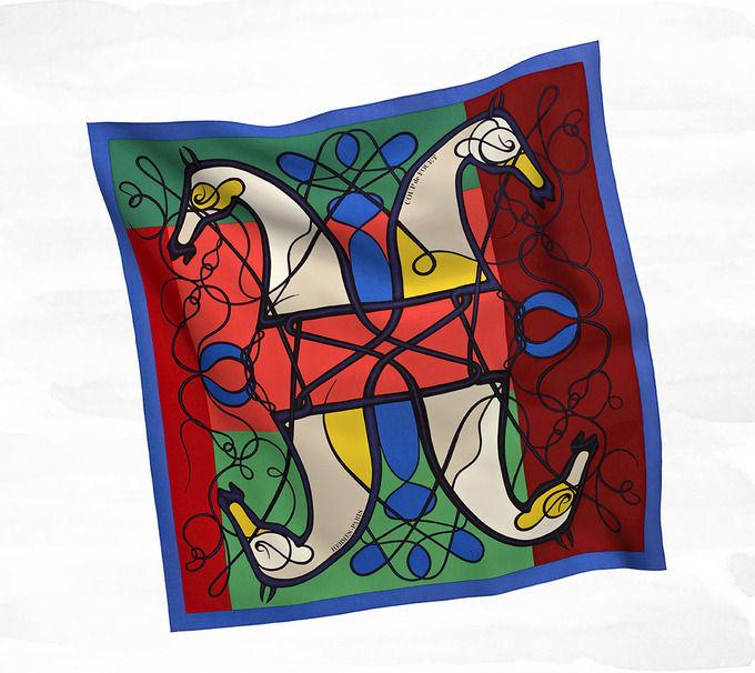 Классические шарфы Hermes. Изображение № 9.