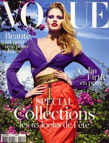 Коллекция Gucci SS 2011 появилась на 50 обложках журналов. Изображение № 6.