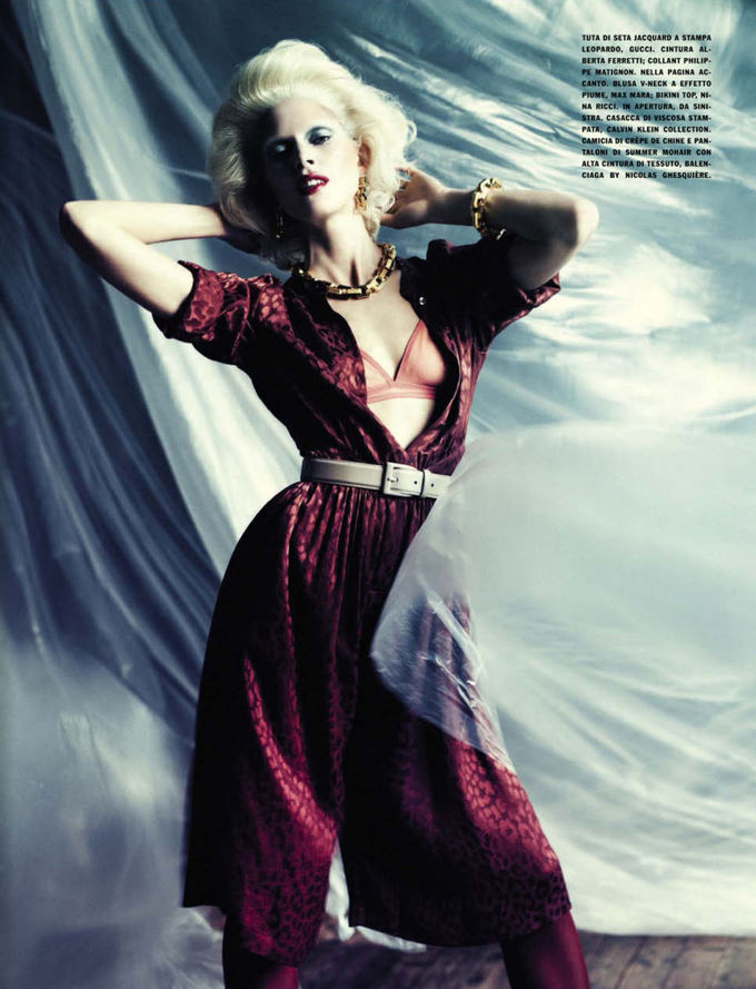 Dazed & Confused, Fat, Vogue и другие журналы выпустили новые съемки. Изображение № 54.