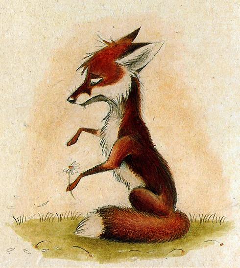 Забавные иллюстрации из жизни лисиц от Skia. Изображение № 18.