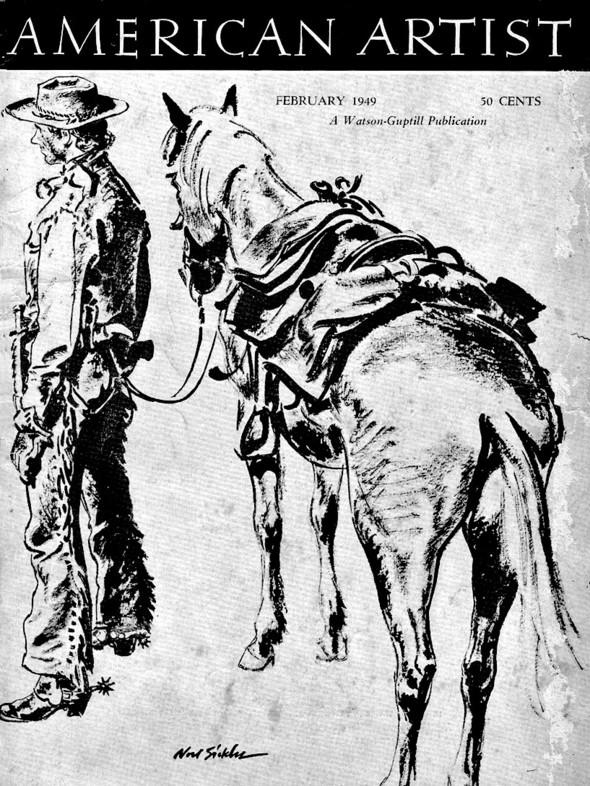 Американские иллюстраторы 40–60гг. ЧАСТЬ 1. Изображение № 53.