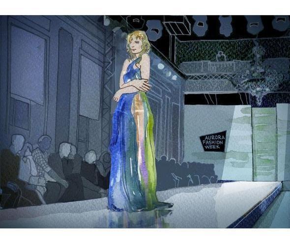 Изображение 18. Что происходит, когда иллюстратора пускают на модный показ.. Изображение № 17.
