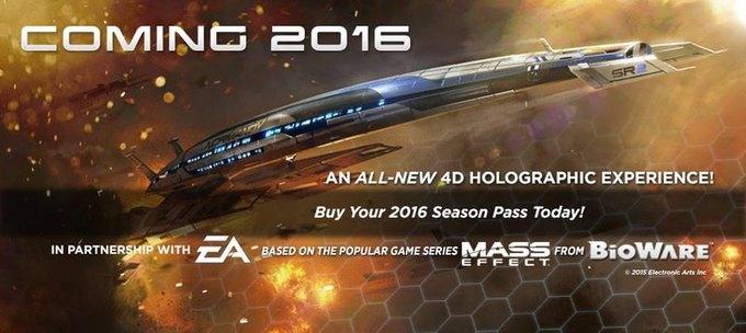 По мотивам Mass Effect создадут аттракцион. Изображение № 1.