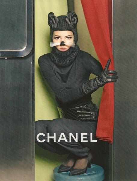 Превью кампании: Chanel FW 2011. Изображение № 6.