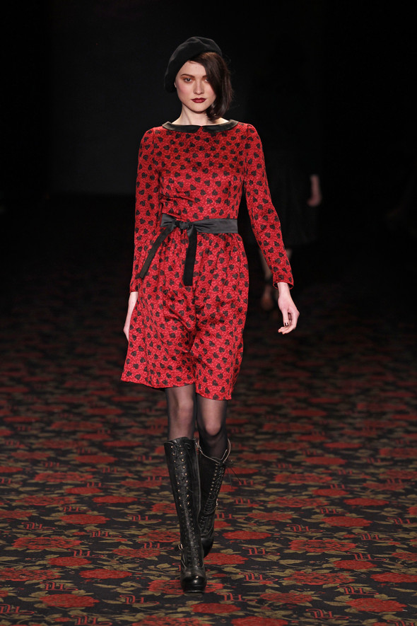 Berlin Fashion Week A/W 2012: Lena Hoschek. Изображение № 65.