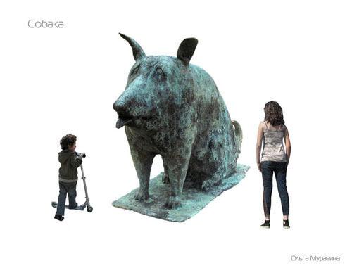 Олимпийский парк  украсят 68 современных скульптур и арт-объектов. Изображение № 4.