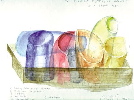 Архитектурные акварели стивена холла. Изображение № 6.