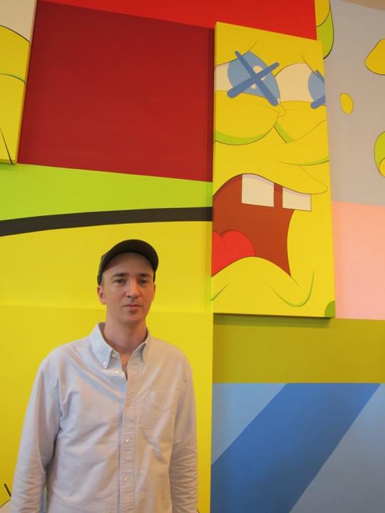 Выставка художника и дизайнера KAWS. Изображение № 1.