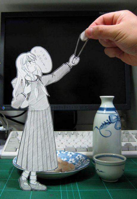 Фотоработы аниме избумаги. Изображение № 11.
