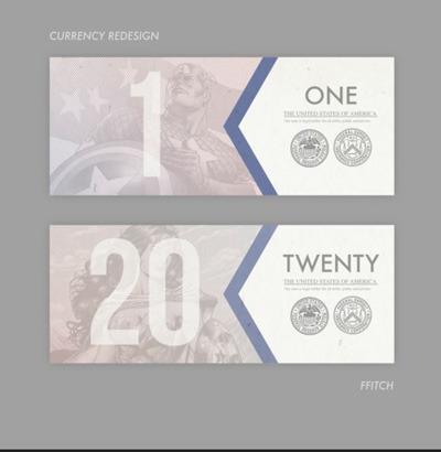 Как дать доллару вторую жизнь: Вашингтон и другие в новом дизайне. Изображение № 2.