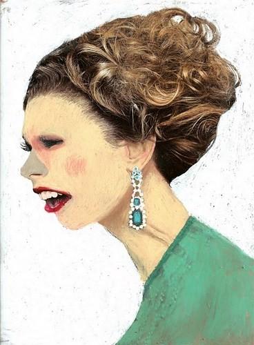 Абсурдные и привлекательные портреты Хуима Тио. Изображение № 8.