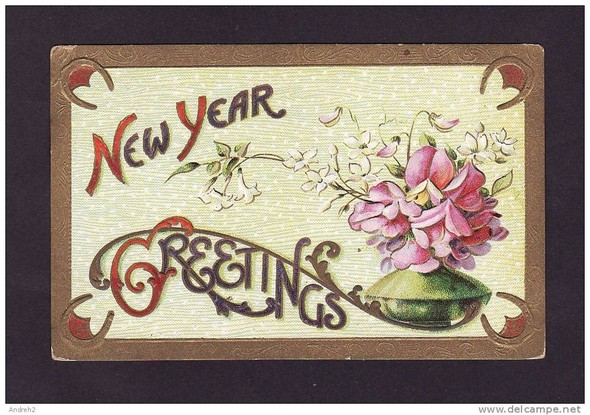 Новогодние открытки 1912 года. Изображение № 6.