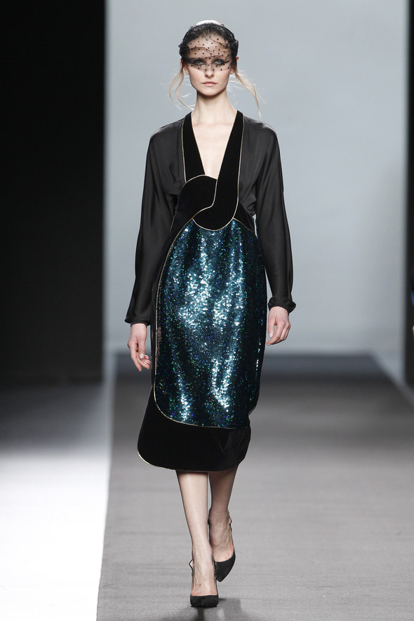 Madrid Fashion Week A/W 2012: Miguel Palacio. Изображение № 29.