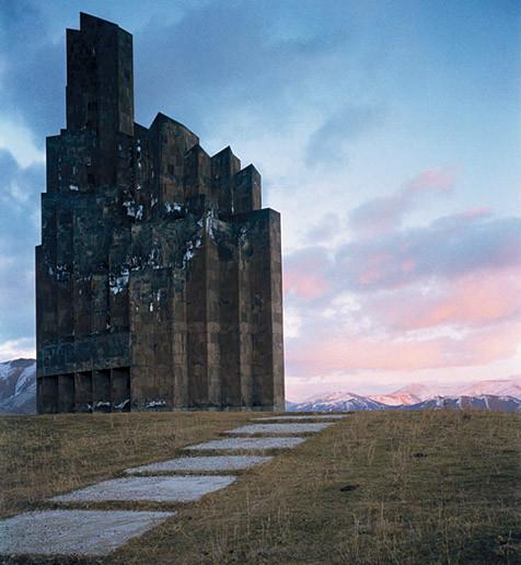 Мемориал памяти битвы при Баш-Апаран, Армения. 1979. Изображение № 3.