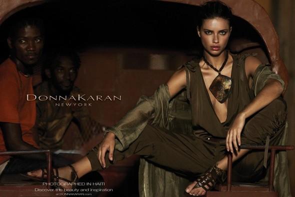 Превью кампании: Адриана Лима для Donna Karan SS 2012. Изображение № 1.