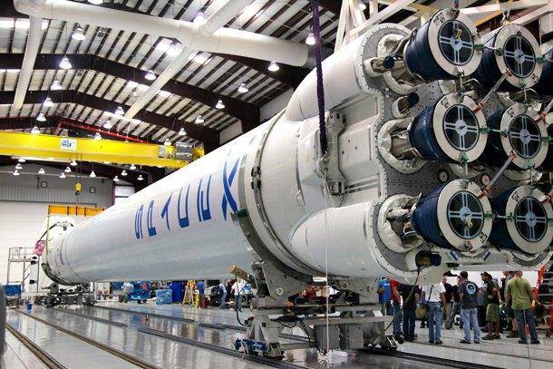 Ракета SpaceX Falcon 9. Изображение № 1.