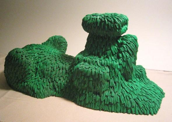 """""""Меховые"""" скульптуры из керамики, резины и бронзы. Изображение № 9."""