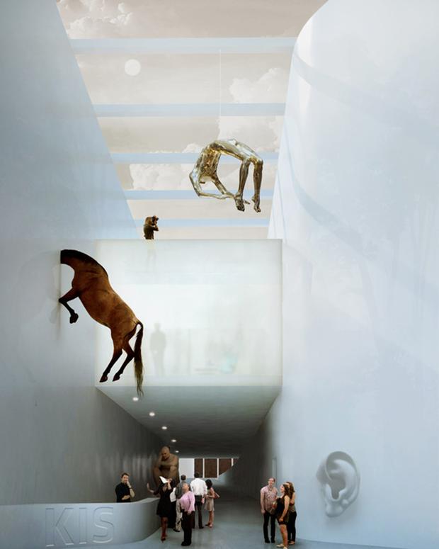 Архитектура дня: «перекрученный» музей авторства BIG под Осло. Изображение № 9.